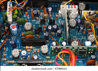 Amateure radio transceiver electronic Board.