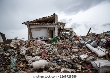 Amatrice after the earthquake