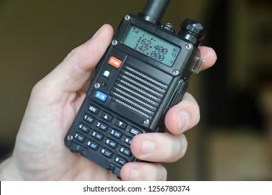 Amatuer radio walkie talkie
