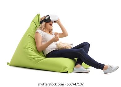 Groovy Beanbag Stock Photos Images Photography Shutterstock Spiritservingveterans Wood Chair Design Ideas Spiritservingveteransorg