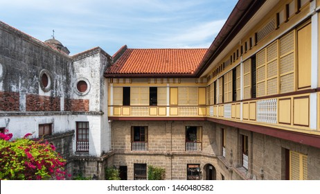 Amazing beautiful vintage old building of Casa Manila is a museum in Intramuros depicting colonial lifestyle during Spanish colonization of the Philippines.