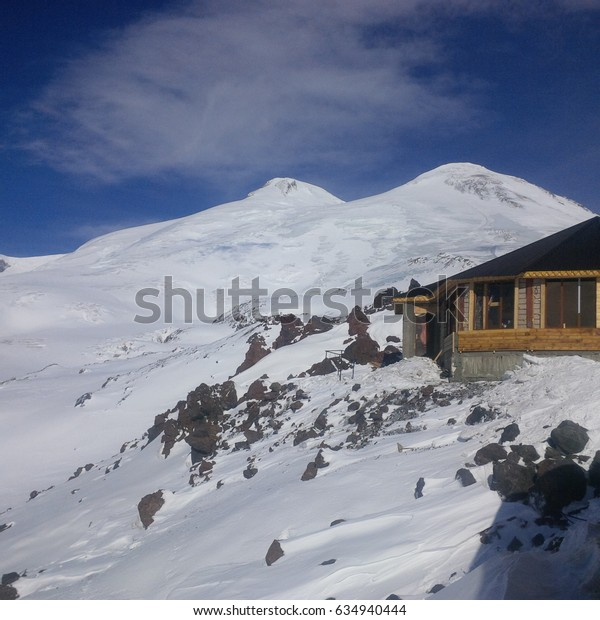 The amazing beauty of the great mountains (Elbrus mountain)