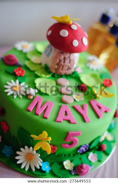 Super Amazing Birthday Cake Fine Details Fairy Stock Photo Edit Now Funny Birthday Cards Online Overcheapnameinfo