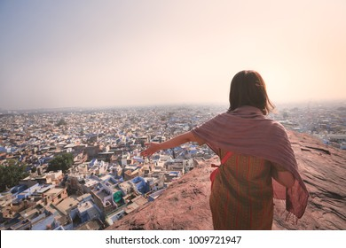 Amazing Blue city in Jodhpur, Rajasthan - India