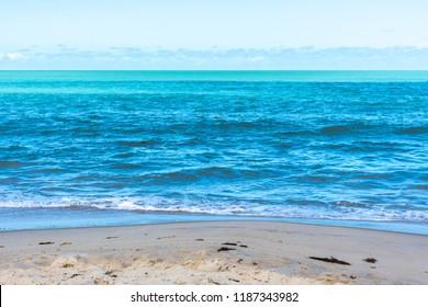 Amazing brazilian Beach, a paradise at Corumbau, Coast of Discovery, Bahia, Northeast Brazil