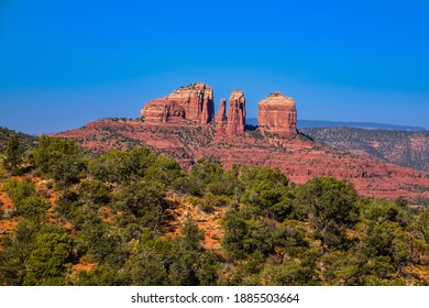 Amazing Cathedral Rock from Courthouse Butte Loop Trail
