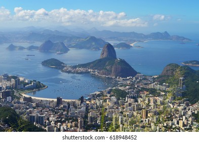Amazing City View From High Up on Corcovado - May 2015 - Rio de Janeiro, Brazil