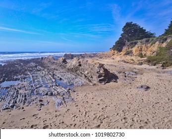 Amazing coastline. Pacific ocean, California