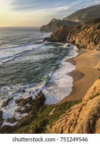 Amazing coastline. Pacific ocean. California