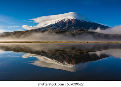 Amazing Cotopaxi volcano, Ecuador, South America