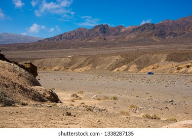 Amazing desert landscape of the Death Valley national park, USA