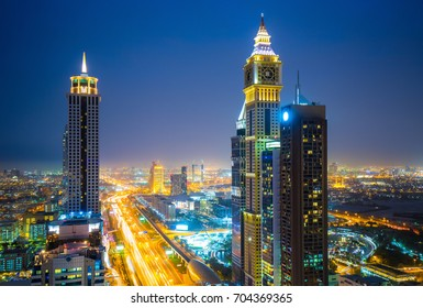 Amazing Dubai downtown view, United Arab Emirates