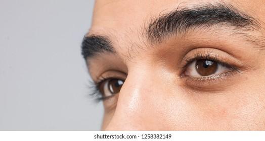 amazing  eyes  close-up shot