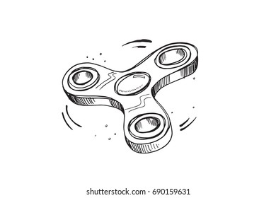 The amazing fidget spinner toy