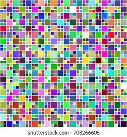 Amazing geometric abstract square mosaic. Abstract geometric background with a polygon. Decorative background can be used for wallpapers, web page background, surface textures