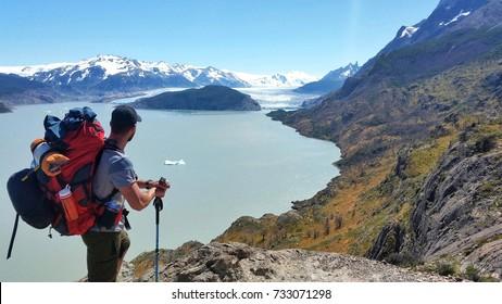 amazing Glaciar Grey, Patagonia, Chile