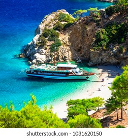 amazing Greece series- turquoise sea of Karpathos island