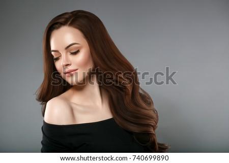 Beautiful brunette women