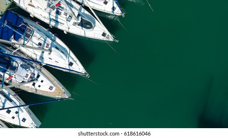 Amazing harbour view with boats.