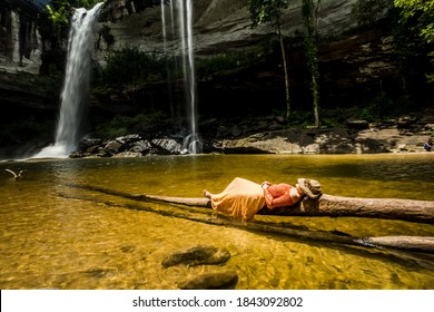 Amazing of Huai Luang Waterfall in Ubon Ratchathani, Thailand
