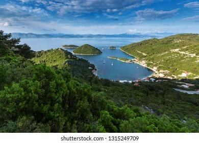 Amazing image of Prozurska luka at island Mljet in Croatia