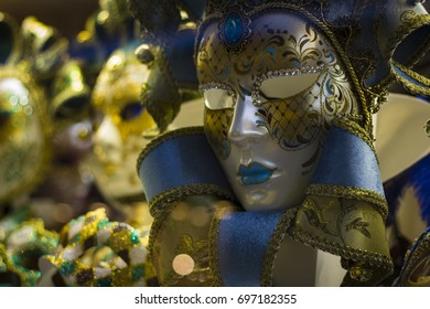 Amazing image of Venetian carnival masks