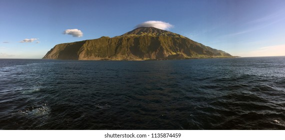 The amazing Island of Tristan da Cunha - the township is small and called Edinburgh of the Seven Seas.  Totally remote.