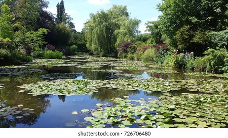 The amazing Japanese garden of Monet in Giverny
