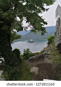 Amazing lake Bled, Slovenija.