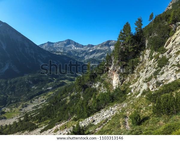 Amazing Landscape with Banderishki Chukar peak, Pirin Mountain, Bulgaria