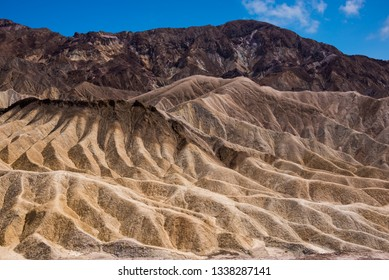 Amazing landscape of the Death Valley national park, USA