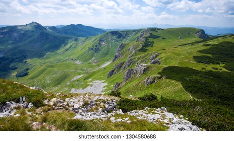 Amazing landscape in Mountains of Montenegro