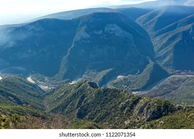 Amazing Landscape of Nestos River Gorge near town of Xanthi, East Macedonia and Thrace, Greece - Shutterstock ID 1122071354