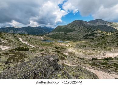 Amazing Landscape of Pirin Mountain, Bulgaria.