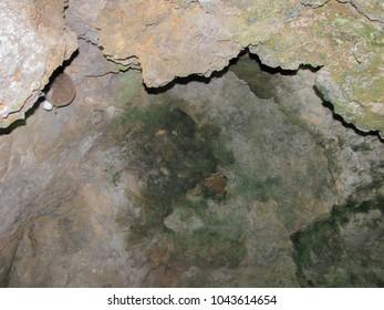 Amazing landscape scenery in Southern Turkey (Asia Minor or Anatolia) - mountain grotto