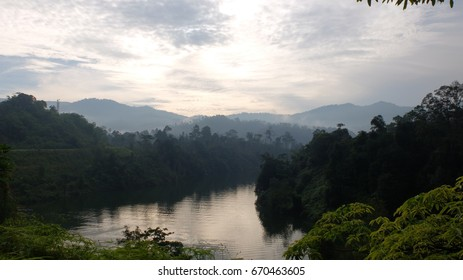 Amazing Landscape at Semenyih Dam, Selangor, Malaysia.