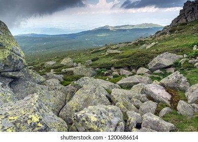 Amazing Landscape of Vitosha Mountain from Cherni Vrah Peak, Sofia City Region, Bulgaria