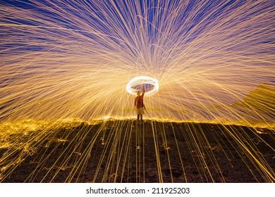 Amazing And Light steel wool