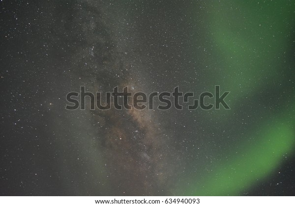 Amazing milkyway captured at antarctica, south pole.
