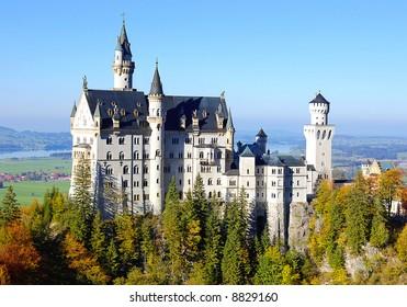 amazing Neuschwanstein castle
