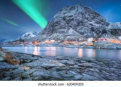 Amazing norway and northern lights