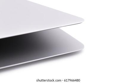 Amazing notebook with aluminium texture in white box