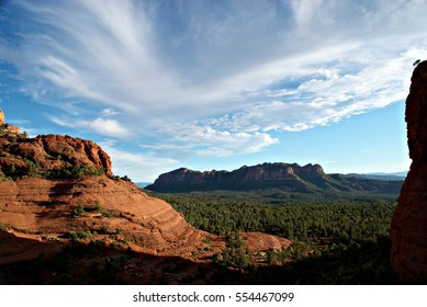 Amazing overlook above one of Sedona's Famous trails.