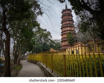 Amazing pagoda in Wuhan, China.