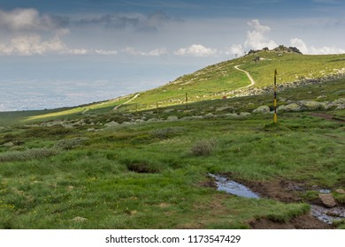 Amazing Panorama of Vitosha Mountain near Cherni Vrah Peak, Sofia City Region, Bulgaria
