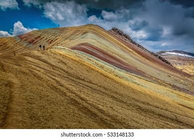 Amazing Rainbow Mountain Cusco Peru