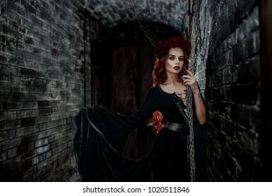 Amazing red girl