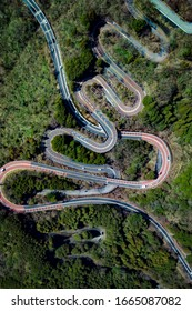 The Amazing Roads of Japan and how it curves with nature.