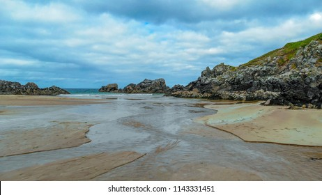 Amazing Sango Sands beach at Durness in the Scottish Highlands