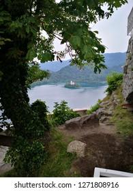 Amazing sight lake Bled, Slovenija.